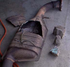 how to pass emissions with a bad catalytic converter
