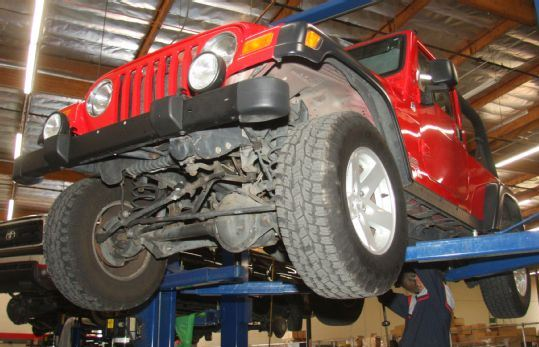 Jeep Wrangler Service Plainfield, Naperville, Bolingbrook, IL