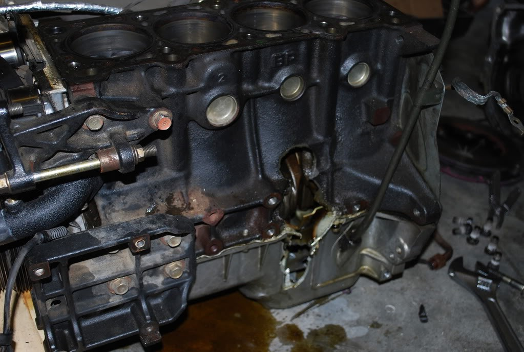 Catastrophic Automotive Engine Failure