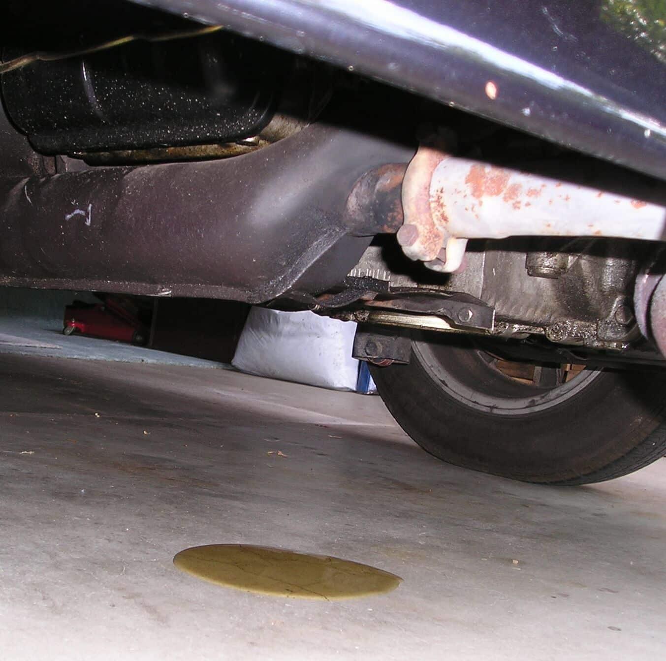 Automotive Engine Oil Leak