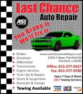Auto Repair Shop In Bolingbrook, IL, Near Me