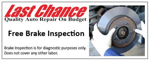 Brake Repair Coupons Plainfield, IL