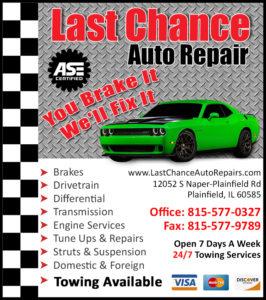 Auto Repair Plainfield Illinois