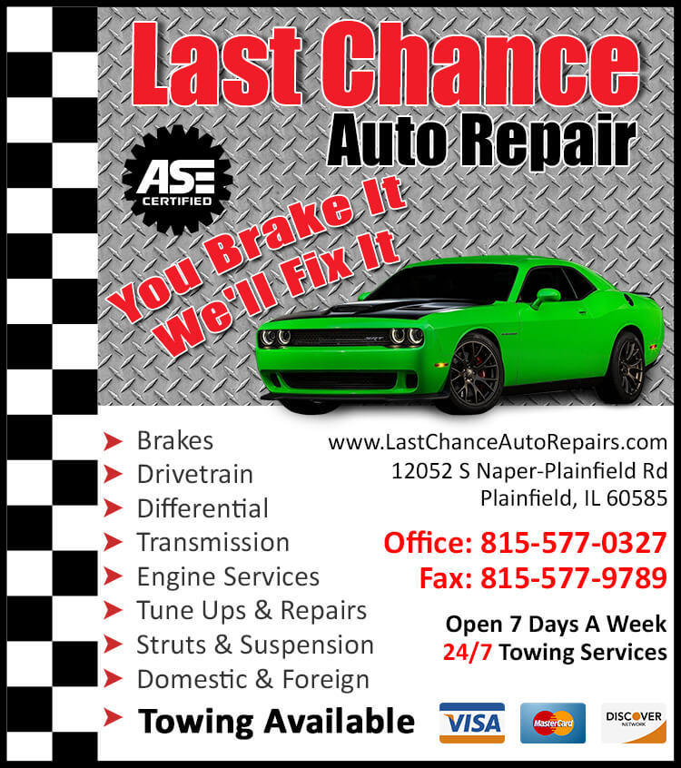 Tire Repair Shops Near Me >> Auto Repair Plainfield IL | Maintenance | Service | Auto Repair Shop Near Me