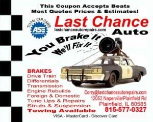 Plainfield Naperville Bolingbrook Auto Repair Shop