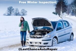 Winterize Your Vehicle At Last Chance Auto Repair
