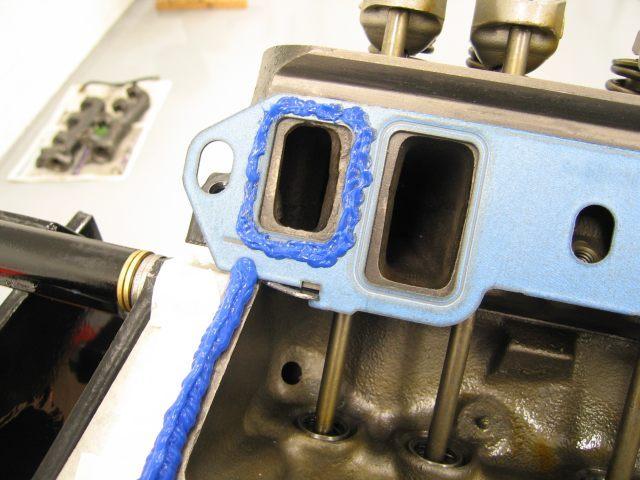 Intake Manifold Gasket Leak : Intake manifold reseal month at repair shop in plainfield il