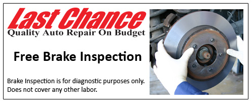 Brake Repair Coupons