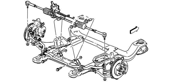 Rack And Pinion Repair >> Rack Pinion Steering Gear Repair Service Replacement