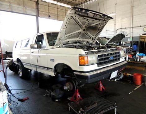 Truck Repair Near Me >> Ford Repair Shop Maintenance Service Plainfield Il Ford