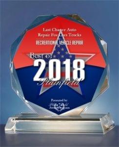 Best Auto Repair Shop, Plainfield, IL, 2018