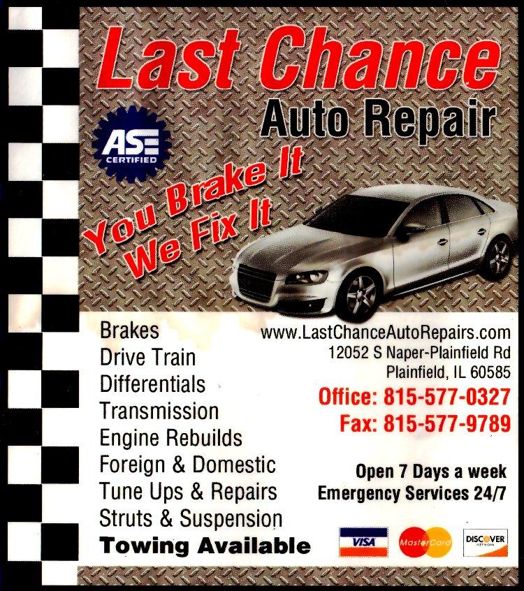 Engine Shops Near Me >> Auto Repair Plainfield Il Maintenance Service Auto