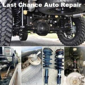 Suspension Shop Plainfield, IL, Last Chance Auto Repair