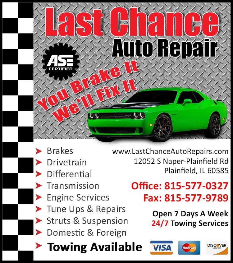 Auto Repair Plainfield Il Maintenance Auto Repair Shop Near Me
